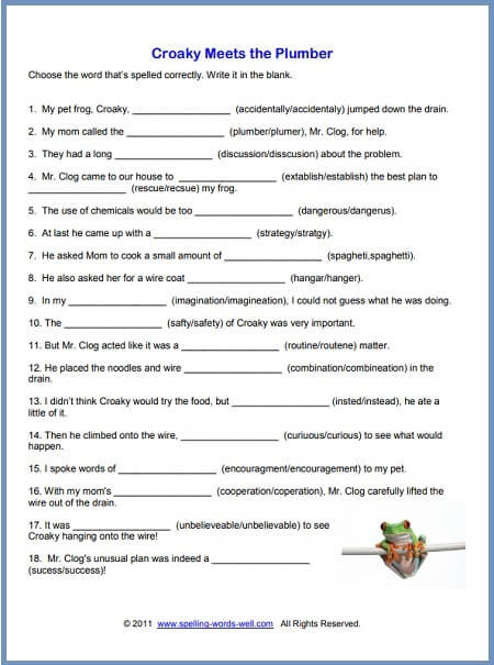 Middle Ages Worksheets 6th Grade Free Printable Spelling Worksheets