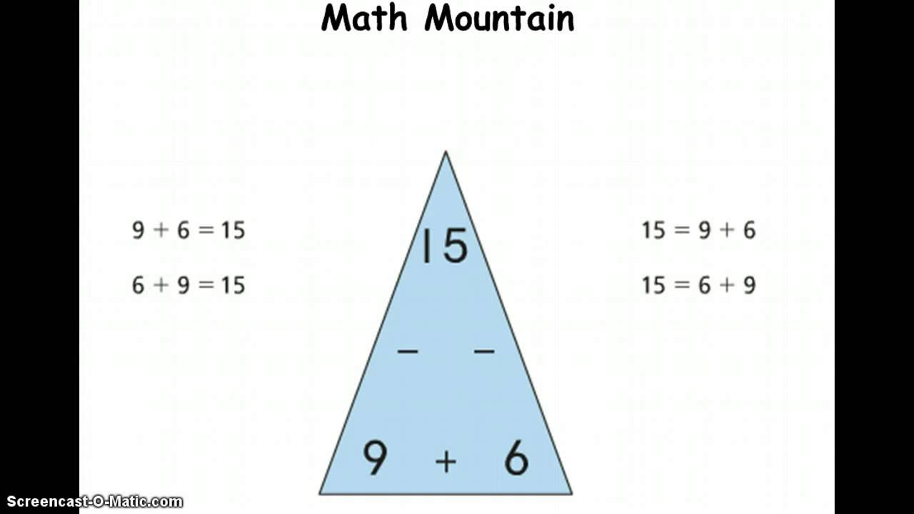 Mountain Math 2nd Grade Worksheet Grade 2 Math Math Mountains