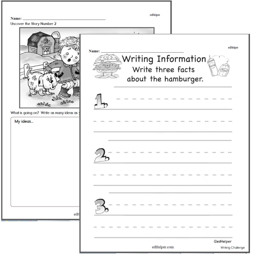 Narrative Writing Worksheets Pdf Writing Worksheets for Creative Kids