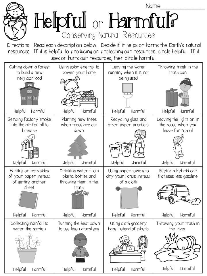 Natural Resources Worksheets 1st Grade Conserving Earth S Natural Resources are Your Choices