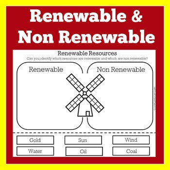 Natural Resources Worksheets 1st Grade Renewable Resources Worksheets