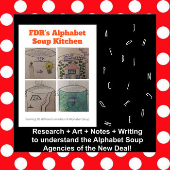 New Deal Alphabet soup Worksheet Fdr S New Deal Alphabet soup Kitchen