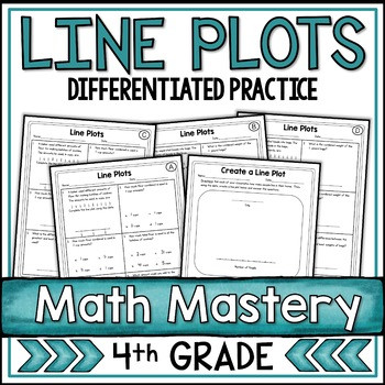 Plot Worksheets 4th Grade Line Plots Worksheets