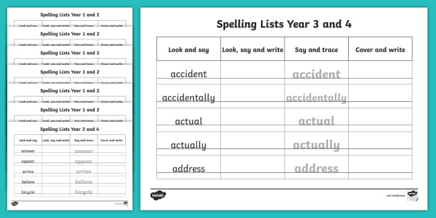 Practice Writing Addresses Worksheets Year and Spelling Word Writing Practice Sheets Resource