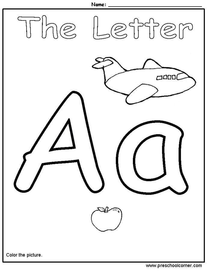 Pre K Letters Worksheets Alphabet Worksheets for Pre Math Handwriting Practice Free