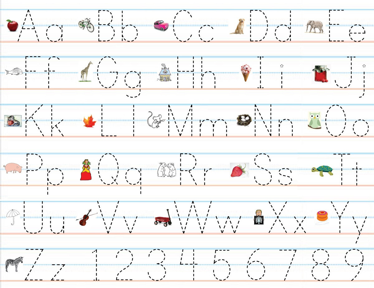 Pre K Letters Worksheets Pre K Letters Templates