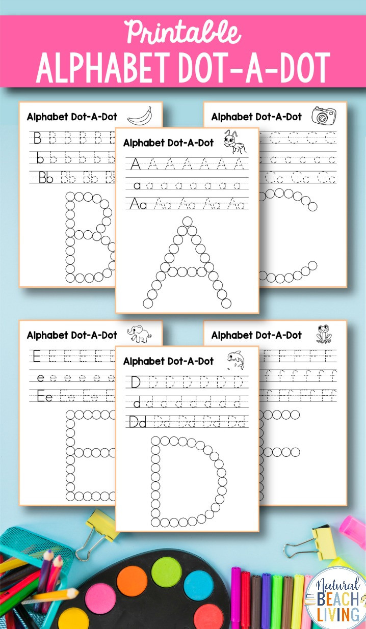 Preschool Alphabet Worksheets Az Alphabet Worksheets A Z Free Q Tip Painting Printables
