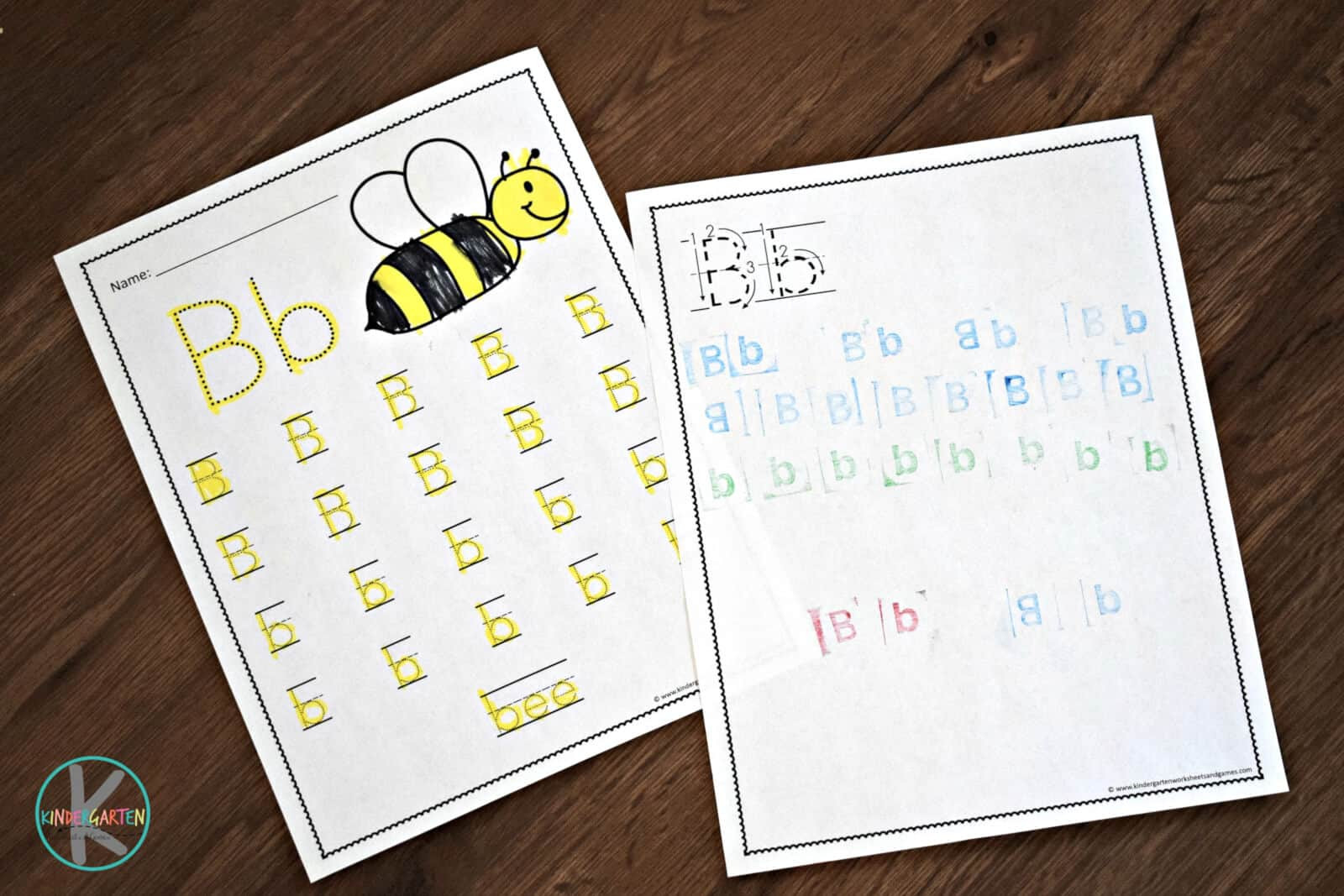Preschool Alphabet Worksheets Az Free A to Z Worksheets for Kindergarten