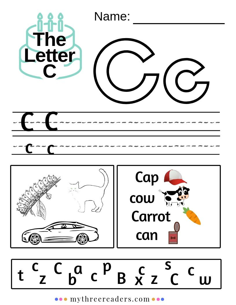 Printable Letter C Worksheets the Letter C Activities Worksheets songs & Best Videos