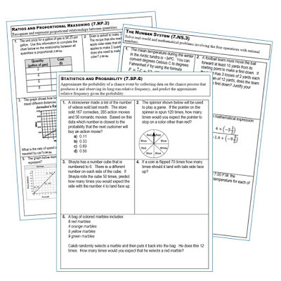 Proportional Reasoning Worksheets 7th Grade Exceeding the Core assess Your Students Understanding Of