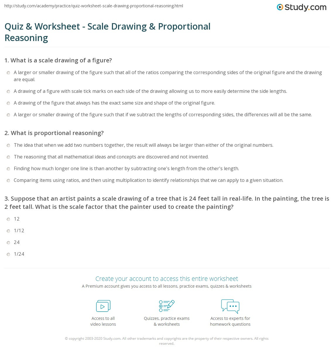 Proportional Reasoning Worksheets 7th Grade Proportional Reasoning Worksheets