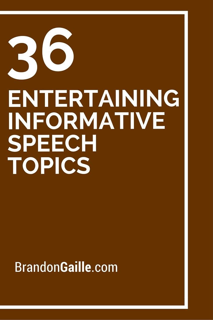 012 public speaking topics games informative research paper for high school