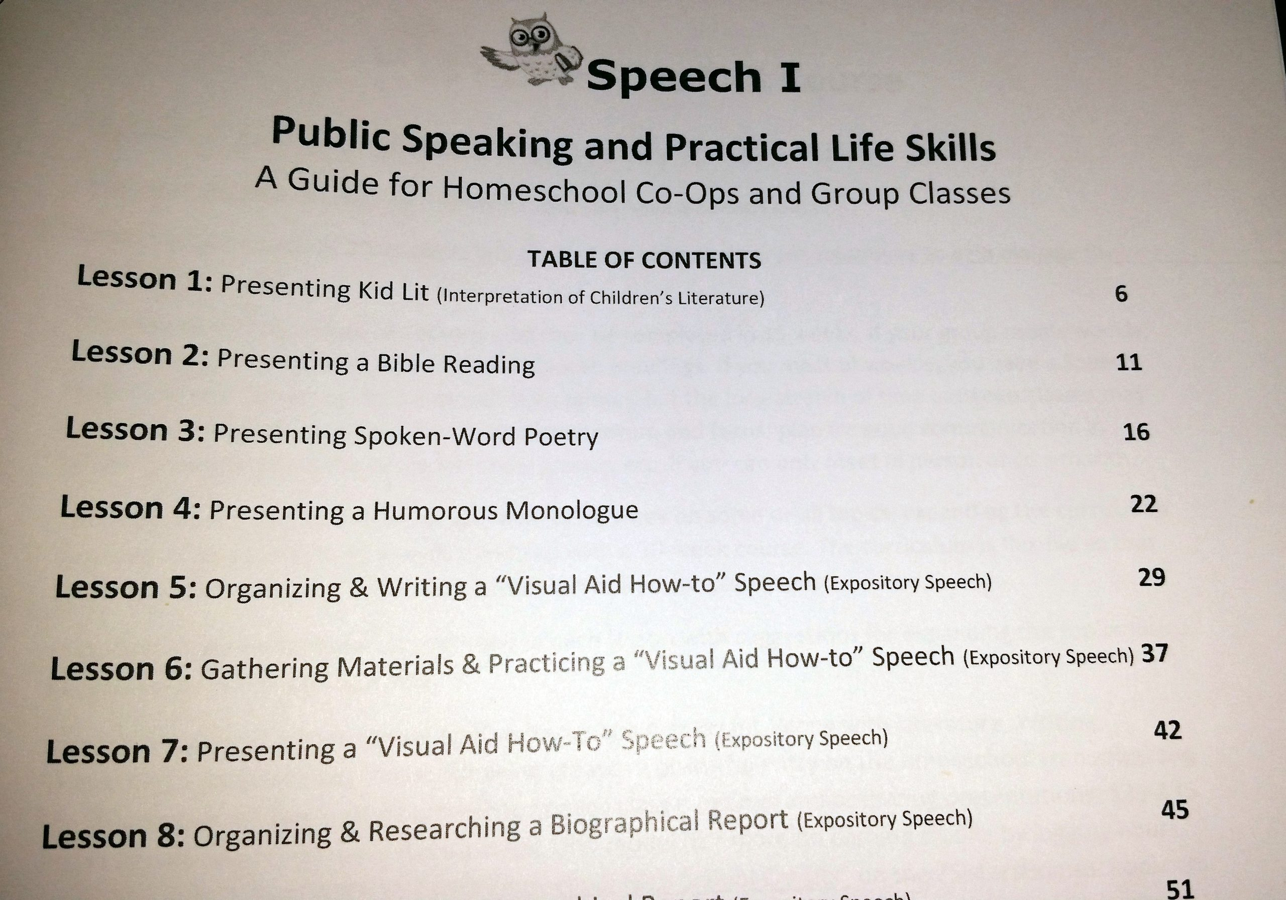 Public Speaking Worksheets High School Homeschool High School Speech I Course – Emom