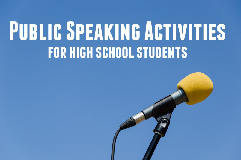 Public Speaking Worksheets High School Public Speaking Activities for High School Students