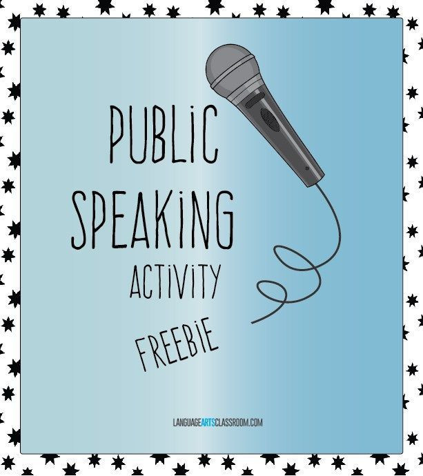 Public Speaking Worksheets High School Public Speaking Activities