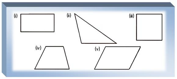 Quadrilaterals Worksheet 4th Grade Worksheet On Polygons Types Of the Triangles