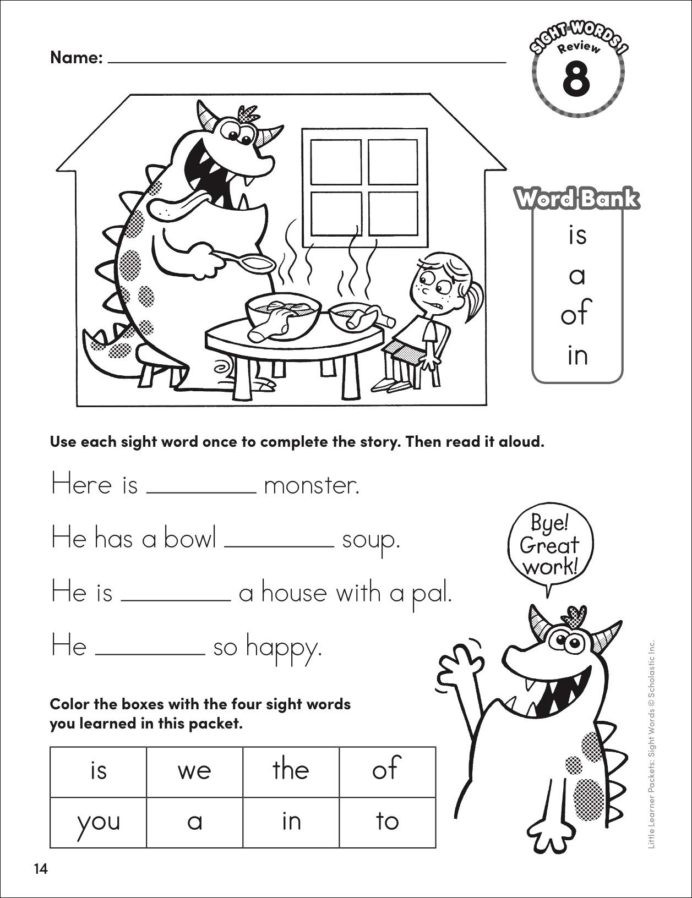 Saxon Phonics First Grade Worksheets Little Learner Packets Sight Words Playful First Grade Flash