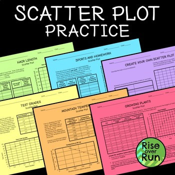 Scatter Plot Worksheet 5th Grade Scatterplot Worksheets