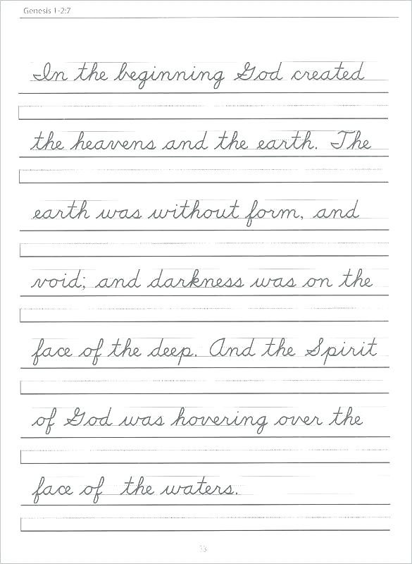 Second Grade Handwriting Worksheets Worksheet Cursiveheets Writing for 2nd Grade Free