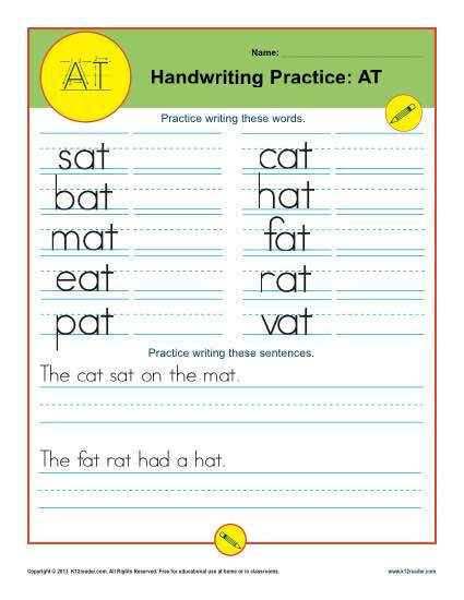Writing Practice AT