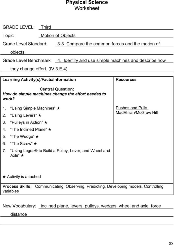 Simple Machines Worksheet High School Adding Fractions Super Teacher Worksheets Work Worksheets