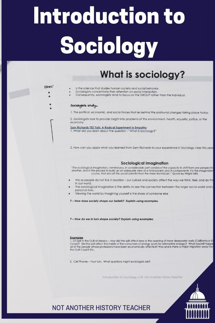 Sociology Worksheets High School Introduction to sociology Lesson Christmasinjuly2020 In