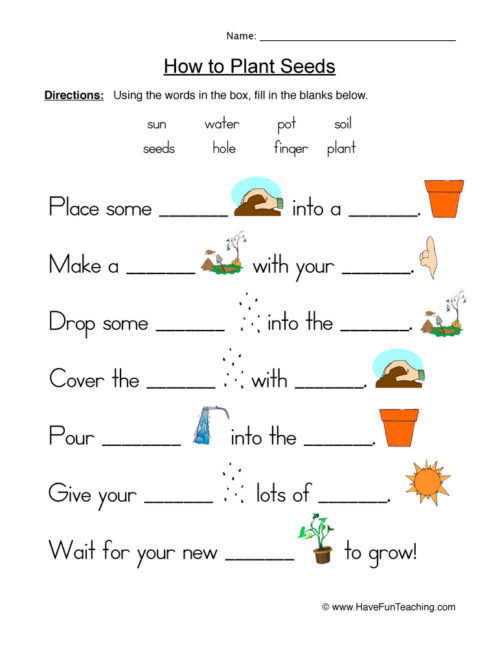 Soil Worksheets for 2nd Grade Resources Have Fun Teaching Funteaching Worksheets Seeds