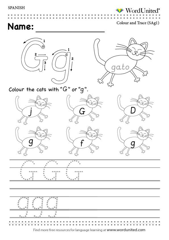 Spanish Alphabet Practice Worksheet Read and Write the Spanish Alphabet Wordunited Free