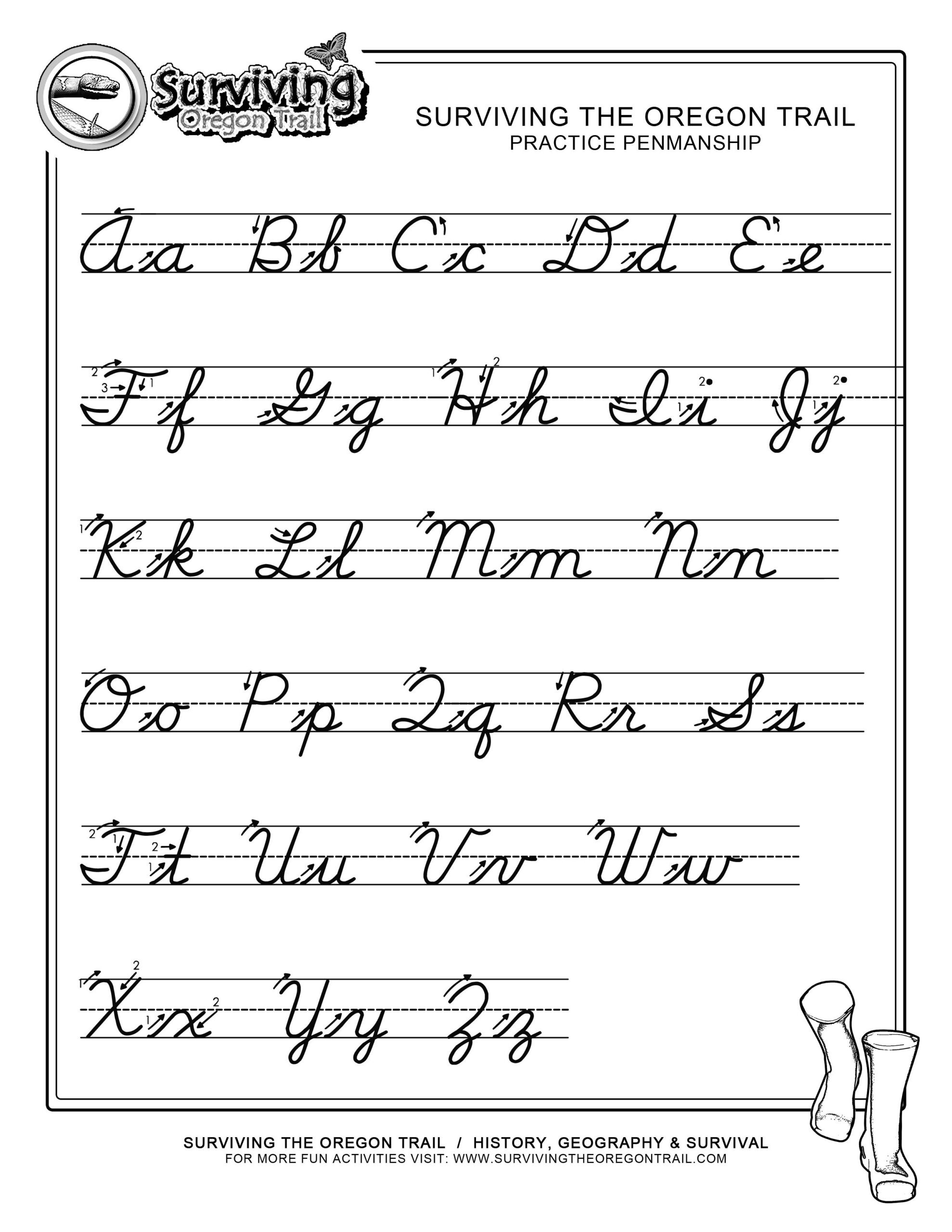 Spanish Alphabet Practice Worksheet Worksheets Free Cursive Writing Worksheet Printables