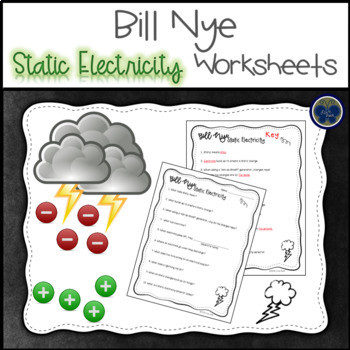 Static Electricity Worksheet 4th Grade Static Electricity Worksheet