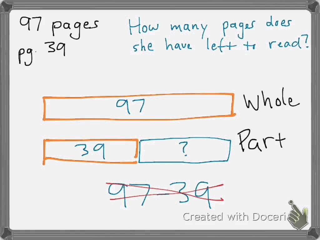 Tape Diagram Worksheet 4th Grade Tape Diagram Subtraction Shows Adding 1 to Both