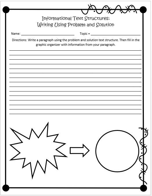 Text Structure Worksheet 3rd Grade Informational Text Structures Print and Digital for Google