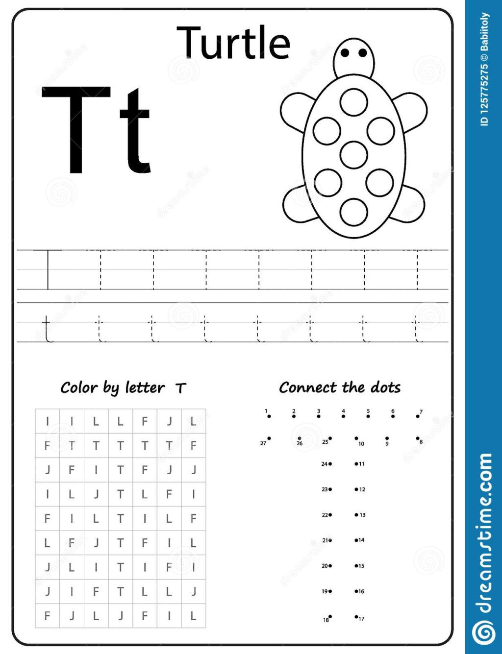 The Letter T Worksheet Worksheet Alphabet Letter T Worksheet Task Kids Learning