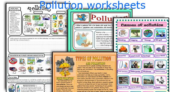 Water Pollution Worksheets High School Pollution Worksheets