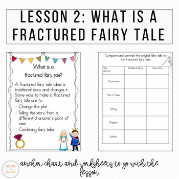 Writing A Fairy Tale Worksheet Digital Fractured Fairy Tale Writing