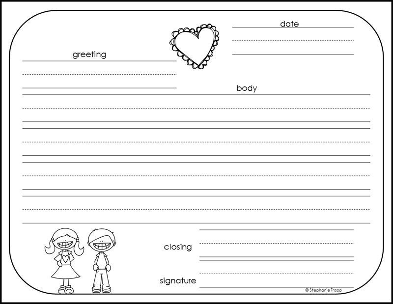 Writing A Friendly Letter Worksheet How to Write A Friendly Letter Free Printables In 2020