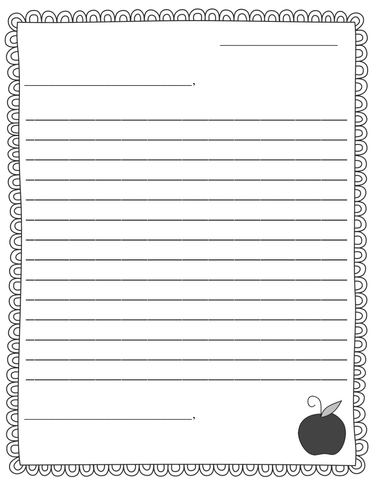 Writing A Friendly Letter Worksheet Pen Pal News Friendly Letter Freebie Teacher Idea Factory