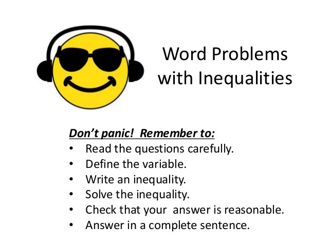 word problems with inequalities 1 638
