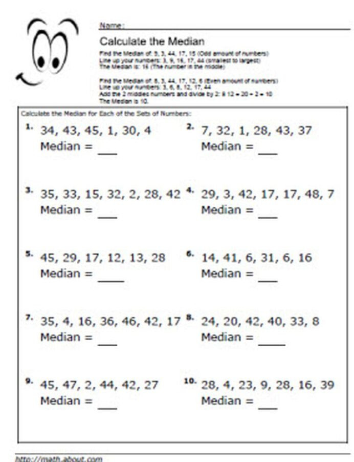 Writing Equations Practice Worksheet Median Worksheets for Math Students Worksheet Writing
