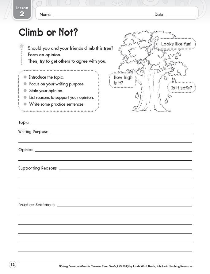 Writing Expressions Worksheet 5th Grade Graphic organizers for Opinion Writing Scholastic Worksheets