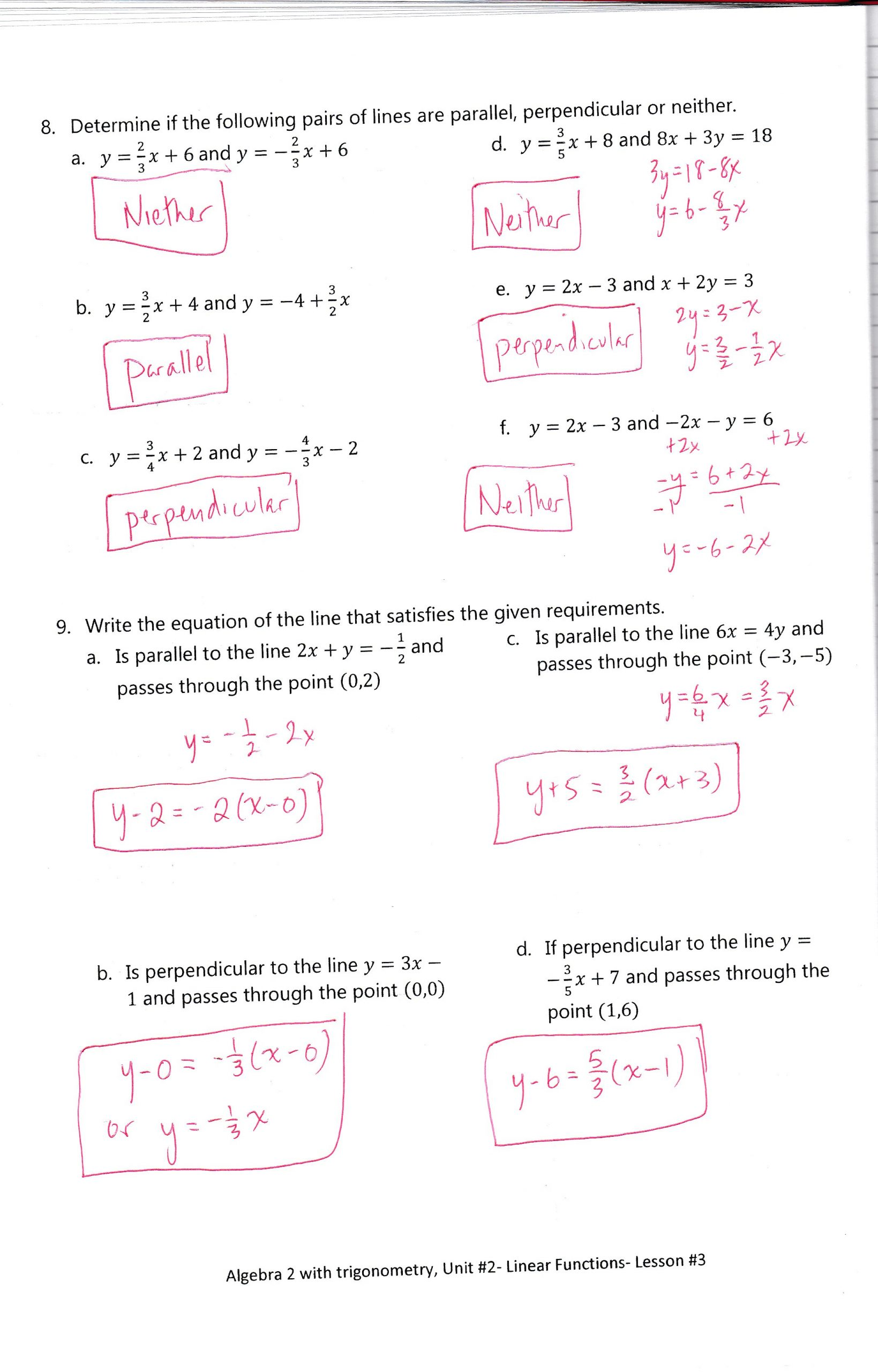 unit 2 linear functions1