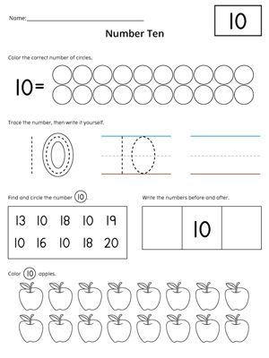 Writing Numbers to 20 Worksheets Numbers 1 20 Count and Write Activity Set