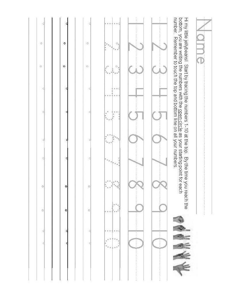 Writing Numbers Worksheet 1 10 Pin by Shelley Taft On Teaching Number Writing