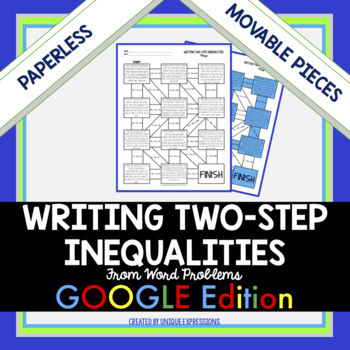 Search writing two step inequalities