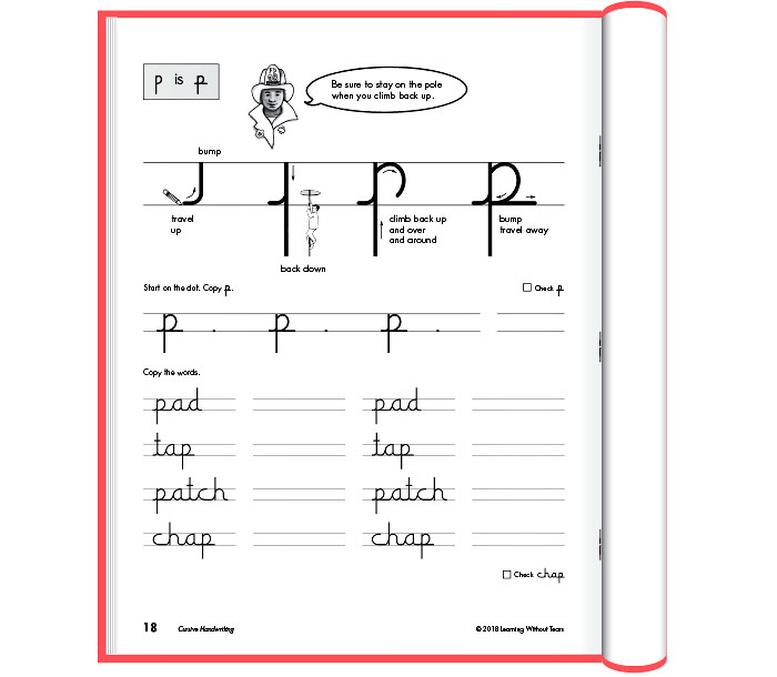 Writing without Tears Worksheets Cursive Handwriting